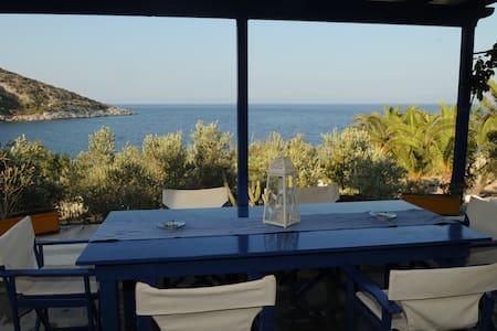 "Luxury country villa ""Sideras"" by the sea - Posidonio - 別墅"