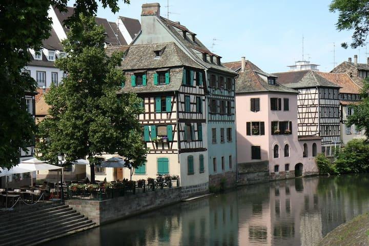 F1 PETITE FRANCE PLEIN CENTRE - Strasbourg - Huoneisto