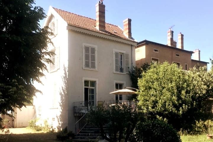 Jardin de Saône:  Vieux Lyon et centre en 10/15min
