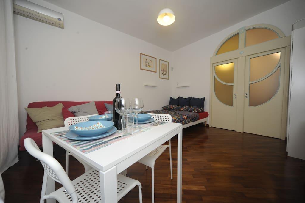 ecco il nostro piccolo appartamento
