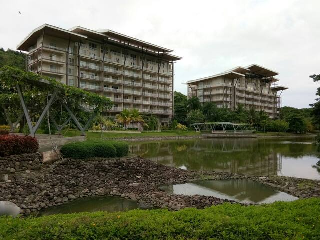 furnished studio type condo unit in pico de loro