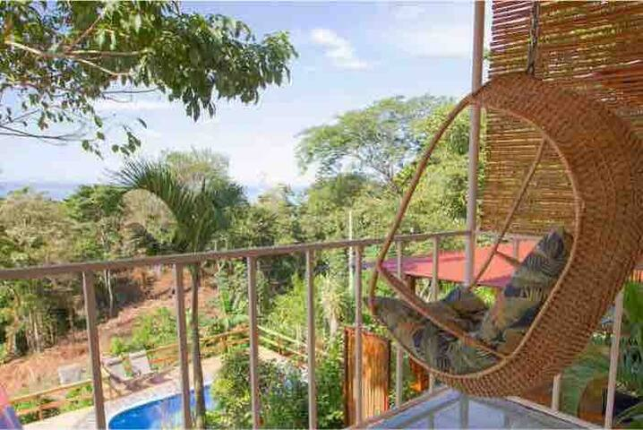 On your private balcony, perfect spot for an afternoon siesta and good book!