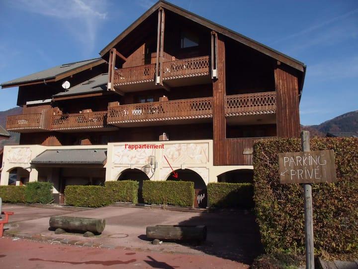 Morillon  T2  Village Savoyard, Ski grand Massif