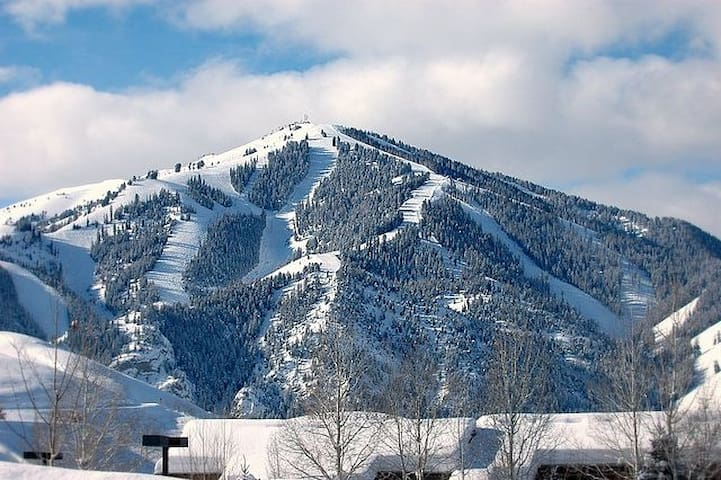 In-town Ketchum condo with views of Baldy!