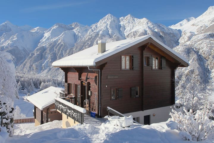 Chalet Arabesque - Switzerland - Grächen - Chalet