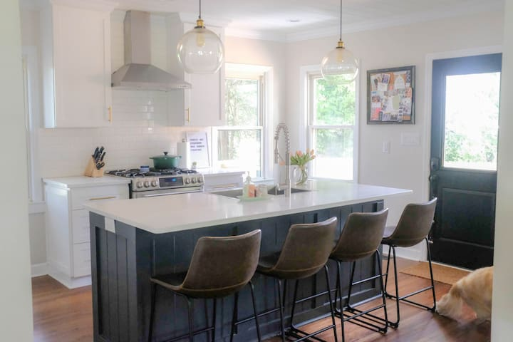 Bright airy ranch home in Lower South End