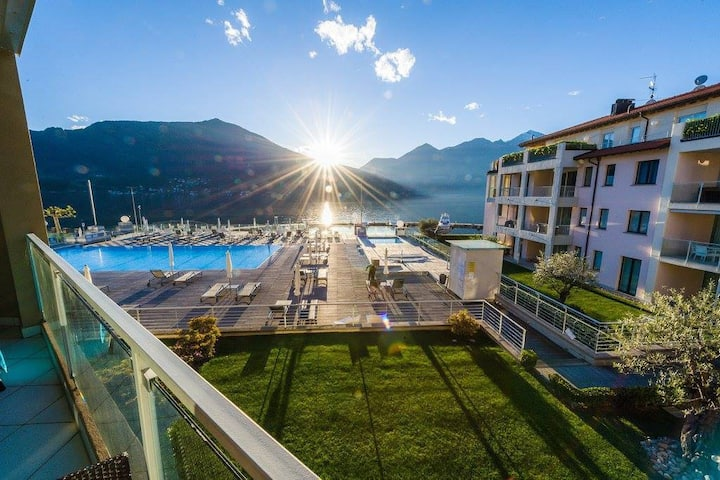 Modern 3 bedroom apartment on Lake Maggiore
