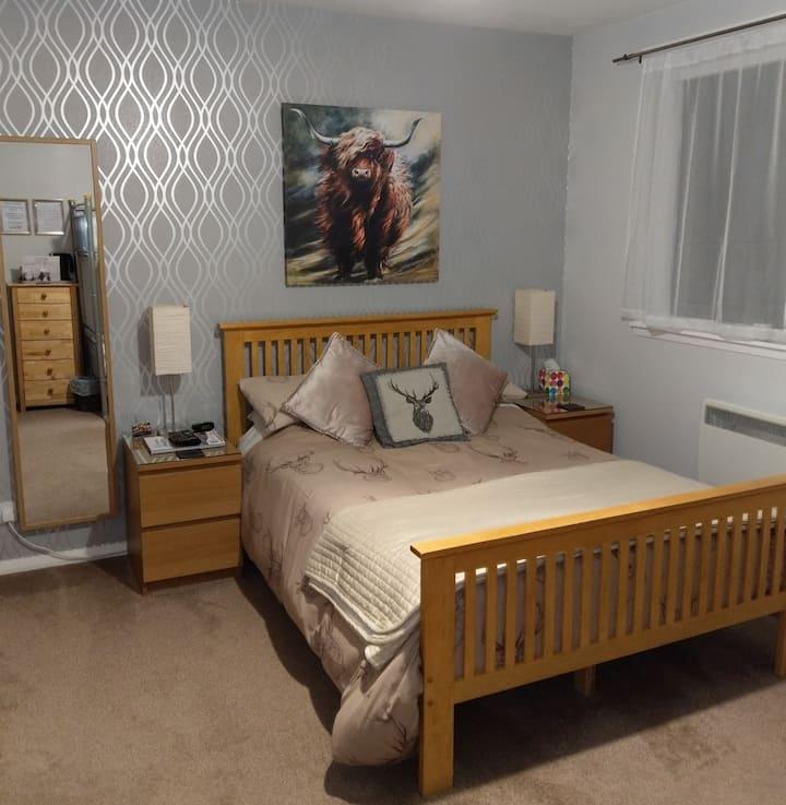 B&B in Cairngorm En-suite family