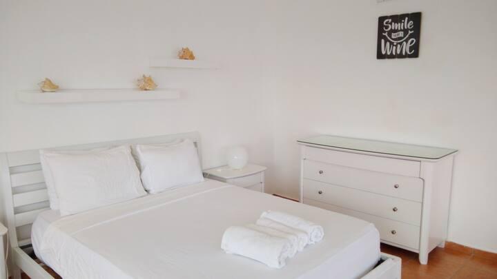White Apartment Ocean View