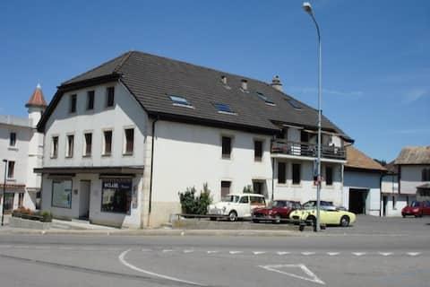 Franches - Montagnes'in merkezinde güzel bir daire