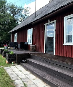 Relaxing house and sauna!