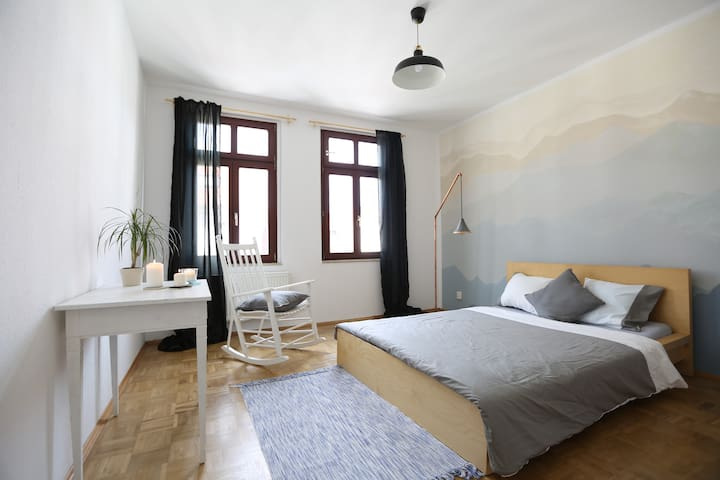 nice and quiet 3-room apartment - Leipzig - Maison