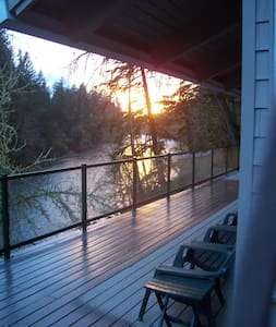 Santiam RiverHaus. A Vacation Home - Lyons - Haus