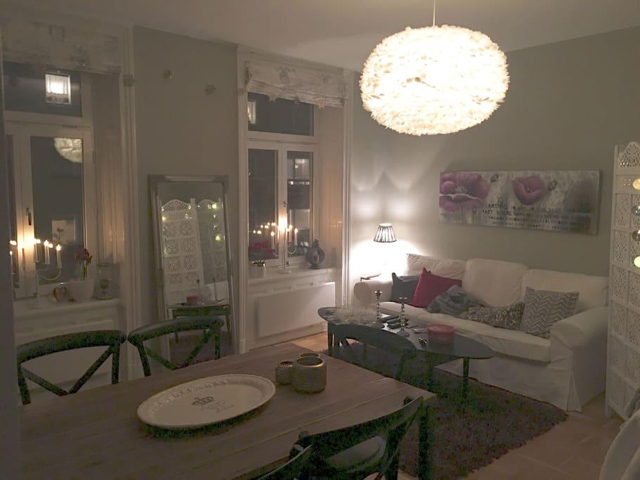 Livingroom at evening