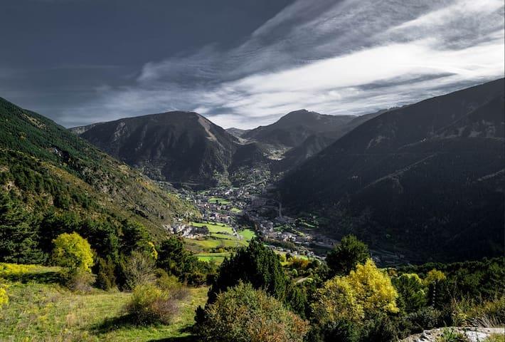 LUXURY Appart. in Andorra 5mn SKI Grandvalira WIFI - Encamp - Apartemen