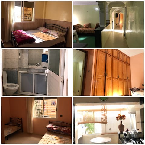 Big apartment furnished for rent