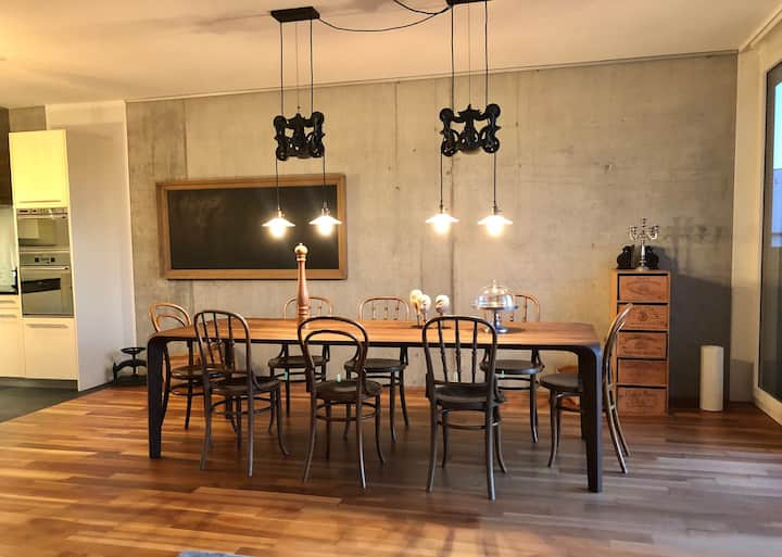 ★3BR★LOFT★ ZURICH CITY CENTER ★on 2Levels★6Guests