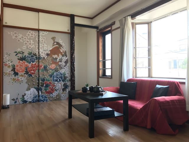 ★Japanesque Apartment near Shibuya + free wifi★ - 世田谷区 - Pis