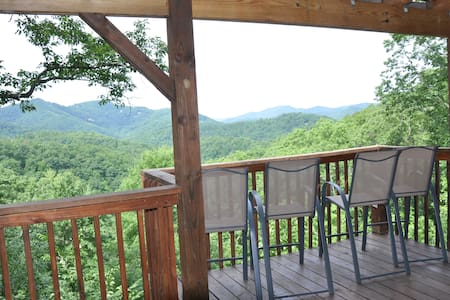 Mountain views, Hot tub & 10 min from Pigeon Forge - Sevierville