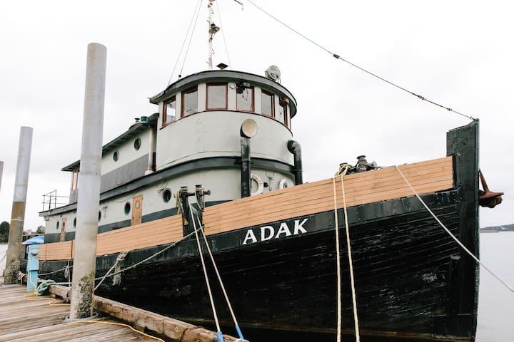M/V Adak - Historic WWII Tugboat - Full Vessel