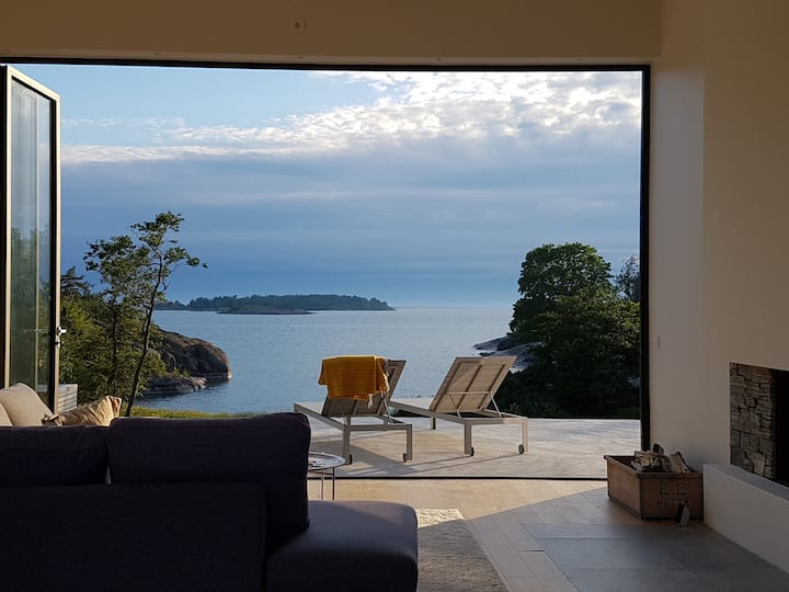 Magnificent seaside Villa Åland