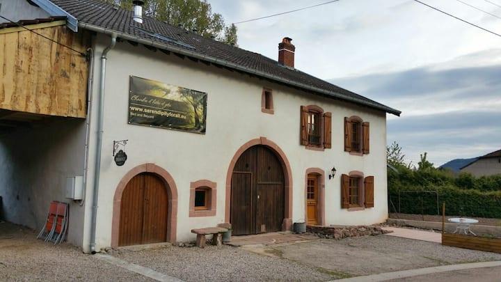 Gîte Sapin, private entrance