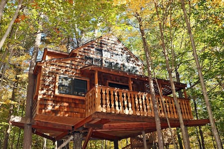 Luxurious Two-Story Treehouse | Fire Pit| Peaceful