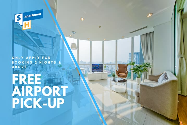 Son&Henry SVT2A 2 Bedroom Condo Walk to Ben Thanh