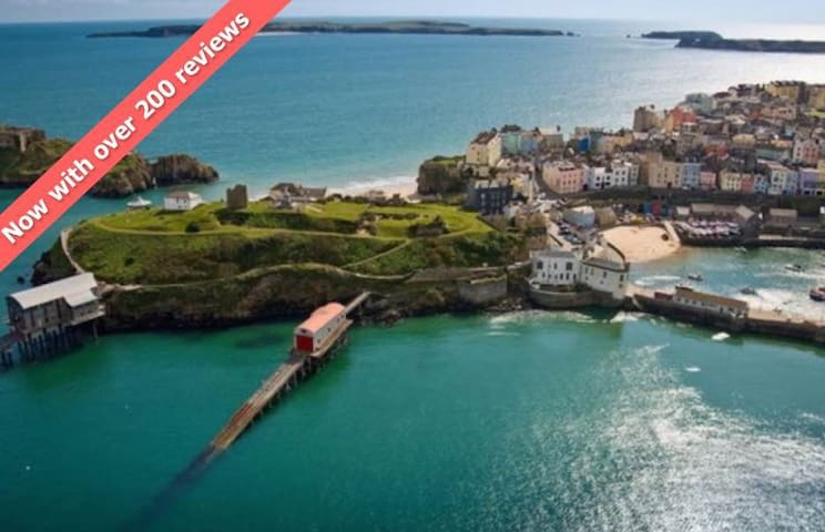 Tenby Town Centre AMAZING Location - Tenby - Daire