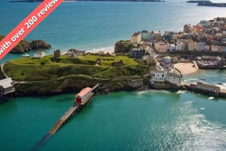 Tenby Town Centre AMAZING Location - 텐비 - 아파트