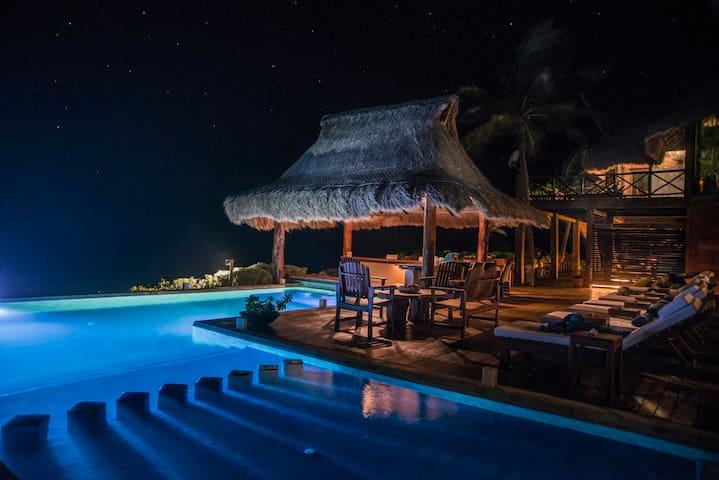 Increible Villa en Playa Virgen con Cheff Personal - 칸쿤 - 별장/타운하우스