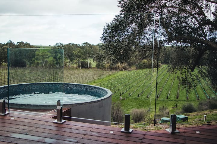 Vineyard View , Open Fire Place ,  Plunge Pool