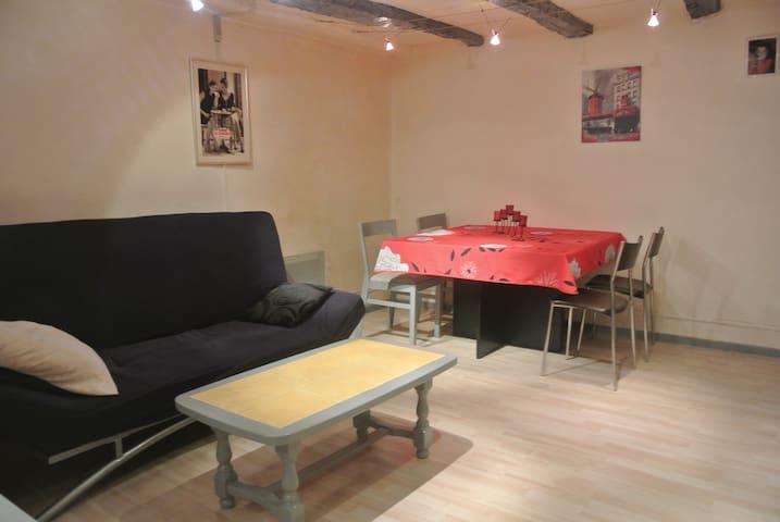 tres agreable refait a neuf 60 m2 - Thézan-lès-Béziers - Townhouse