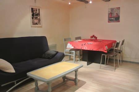 tres agreable refait a neuf 60 m2 - Thézan-lès-Béziers - Şehir evi