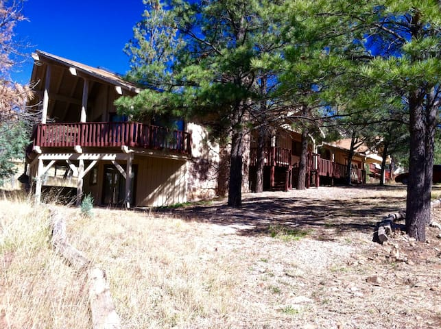 Big, Secluded & Close to the Village, 4BR 2.5 BA - 루이도소(Ruidoso) - 통나무집
