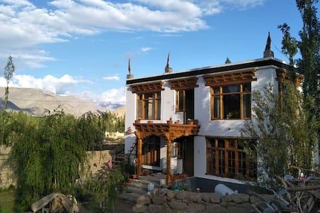 Abapa House, Choglamsar (Room 1)