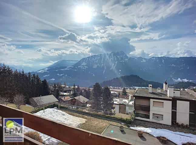 """Renewed apartment with a bed room, living and kitchen in """"Dents-du-Midi"""" (4 pax). - 000316"""