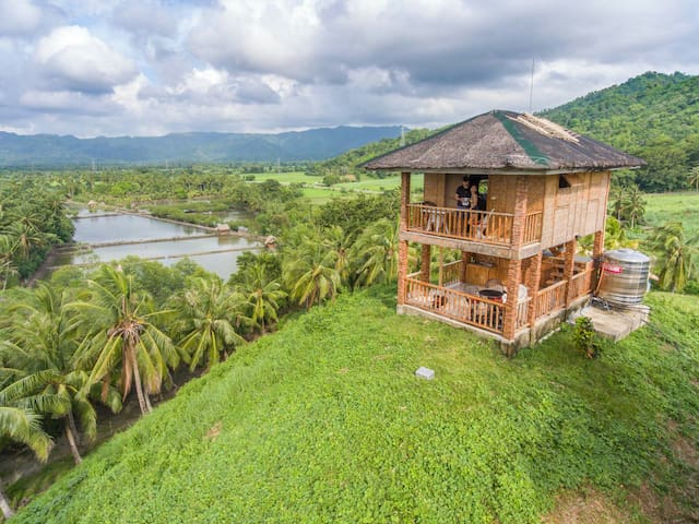 Natural Native Sea view Cottage - Sipalay - Hut
