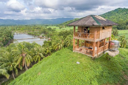 Natural Native Sea view Cottage - Sipalay - Baraka