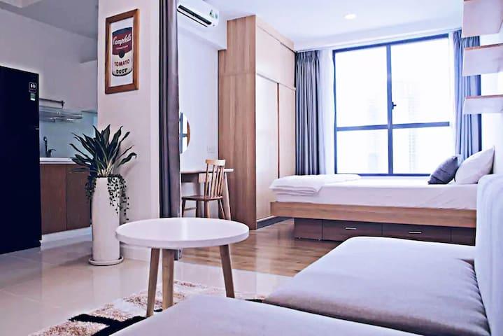 Luxury apartment with fully equipped, 1 bedroom - Ciudad de Ho Chi Minh - Departamento