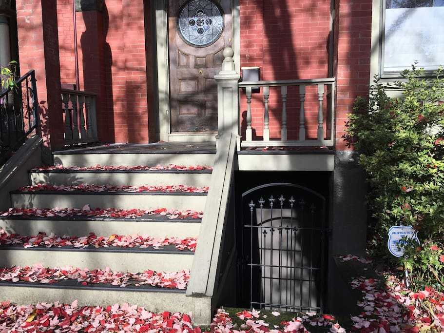 Curbside appeal of the property