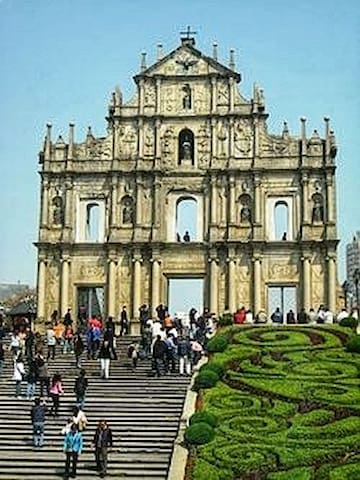 1 of several places to go: St Paul's at Macau
