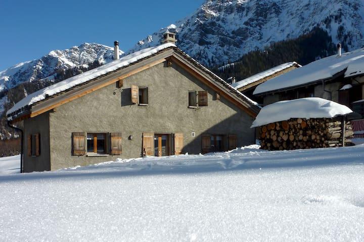 Chalet dans le Val Ferret (La Fouly) - Orsières