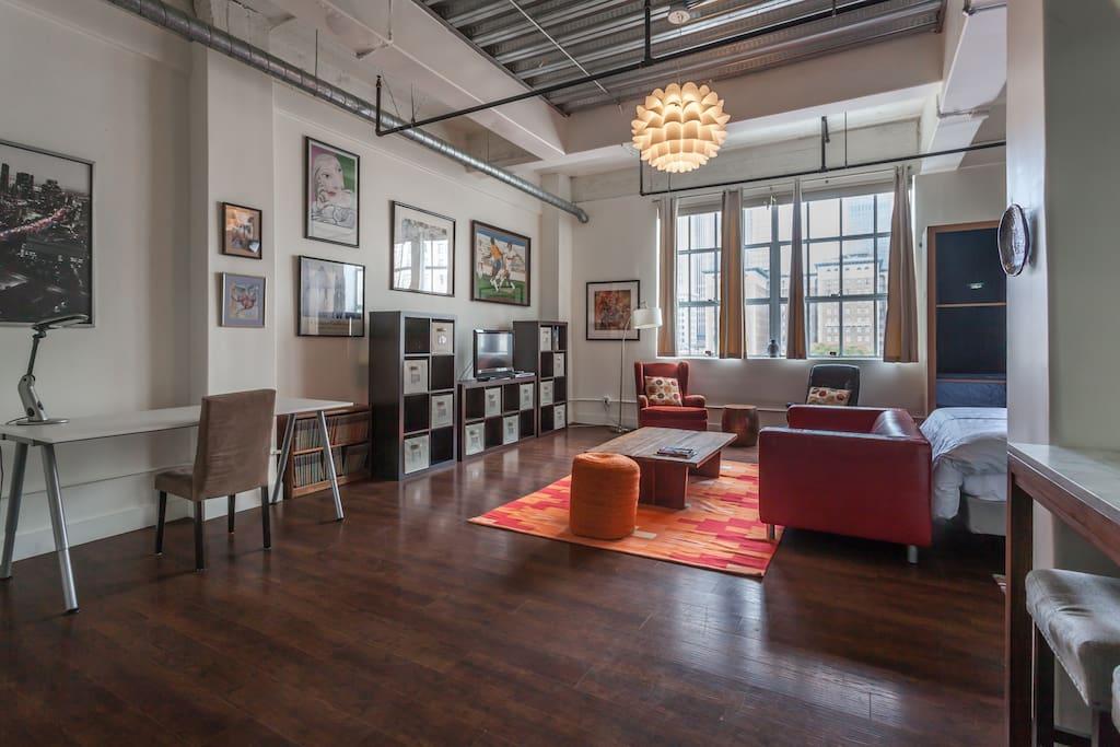 spacious open floor plan