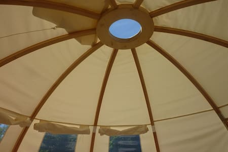 Tente Wigwam et sauna, votre séjour écolo glamping