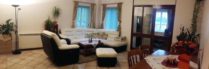 City centre double bedroom with private bathroom