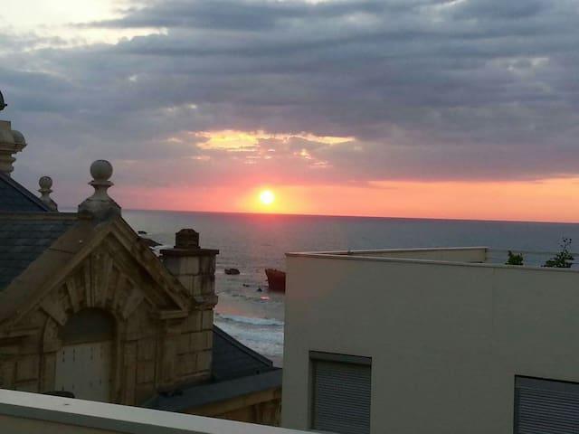 Situation recherchée grande plage - Biarritz - Apartment
