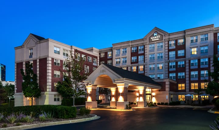 """Home away from Home"" at Hyatt House Schaumburg"