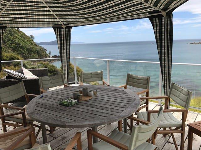 Coromandel - Waikawau - Huis