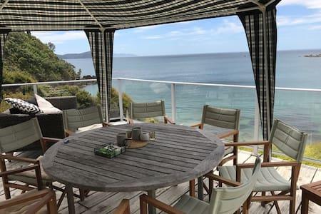 Coromandel - Waikawau - 一軒家